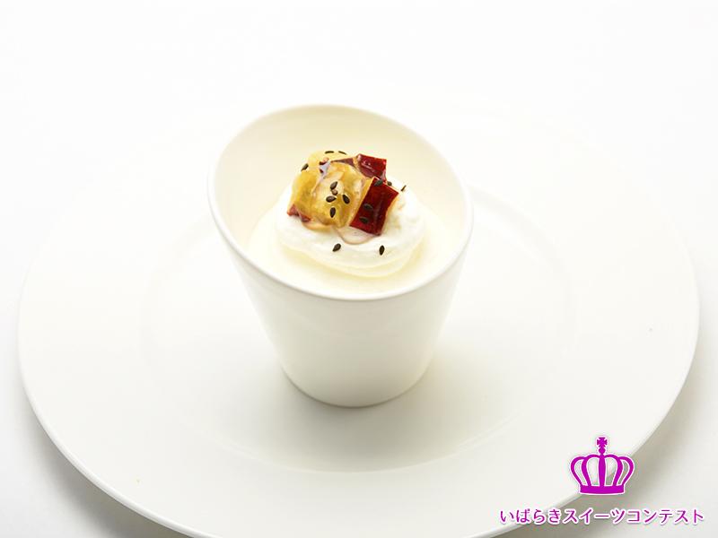菓子工房 ラポワール / 紅あずまとホワイトチョコ